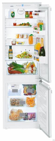 "$2,800. Liebherr HC1050B 22"" Bottom Freezer Refrigerator with 9.3 cu. ft. Capacity, 4 Glass Shelves, 3 Door Bins, 1 Produce Crisper, 3 Freezer Drawers and Ice Maker"
