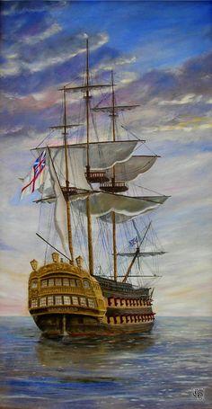 HMS Vanguard Royal Navy Ship  Gord Napier