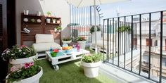 Grandes ideas para terrazas pequeñas