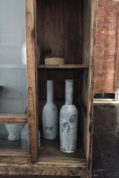 """Kyoto window"" Ceramics by Inatomi Junsuke Collage box by Fukuda Takumi 「窓、京都」 陶器、稲富淳輔 コラージュオブジェ、福田匠"