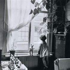 Eva Besnyö-Jordaan, Amsterdam, 1955