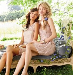 Award winning bridesmaid collection from this leading American fashion house.