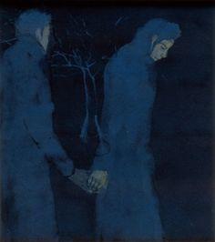 Untitled, (2000). Kai Althoff.