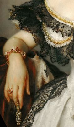 Franz Xavier Winterhalter: Portrait of a lady