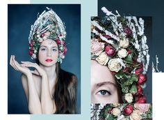 #кокошник #арт #нашаработа #floral #florist #design #floristic