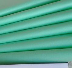 Tissue Paper - Mint Green, Pale Green, Seafoam, Pistachio-BULK Tissue Paper 24 Sheets - DIY Wedding Decor - Gift Wrap Idea - DIY Pom Pom