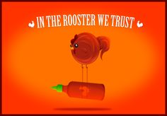 In The Rooster We Trust, signed print by The Oatmeal... need this!