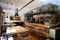 Restaurante Lua, la nueva barra de Manuel Dominguez