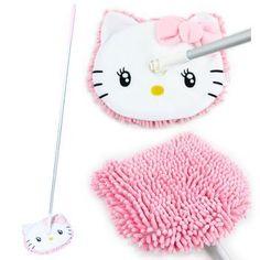 Hello Kitty MicroFiber Floor Mop by Sanrio.