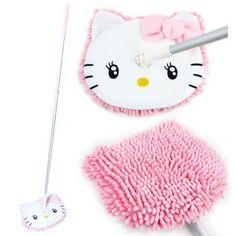 Hello Kitty MicroFiber Floor Mop by Sanrio.