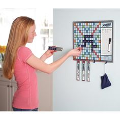 The Walk By Scrabble Board - Hammacher Schlemmer. need this NOW!