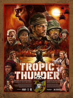 Tropic Thunder - Film Poster
