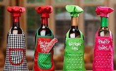 Artesanatos Feitos com Garrafas de Vinho    6