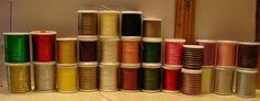 Janome Embroidery Thread 21 Spools 4 Dritz Metallic 2 Coats Clark Multi Color