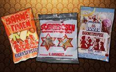 Hvilken var favoritten til Barne TV? Snack Recipes, Snacks, Pop Tarts, My Childhood, Nostalgia, Chips, Barn, Packaging, Memories