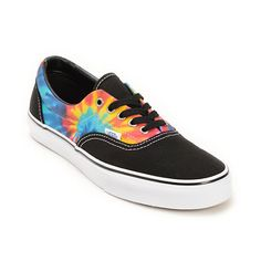 de71952aa3  I LIKE THESE HAYLEY  Update your kicks with the groovy new take on a  classic with tie dye side panels and a black seamless canvas toe on a  vulcanized ...