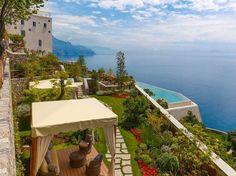 Monastero Santa Rosa Hotel & Spa, Amalfi Coast, Italy #treasuredtravel