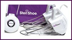 Find out how Steri Shoe could help you eliminate athlete's foot and/or toenail fungus!