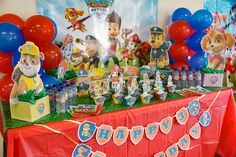 Here Is A Great Freebie For Your Paw Patrol Inspired Birthday Party Cute Happy