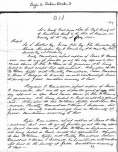 Boyle County KY Order Book, May, 1850, Regarding Arrangements for ...