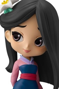 Mulan - Pastel Color ของแท้ JP - Q Posket Banpresto [โมเดล Disney] Polymer Clay Disney, Polymer Clay Dolls, Polymer Clay Crafts, Punk Disney Princesses, Disney Princess Drawings, Pretty Dolls, Cute Dolls, Miniature Photography, Princesa Disney