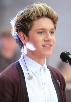 Niall Horan (One Direction) Cool Blond Spiked Shot Hairstyle