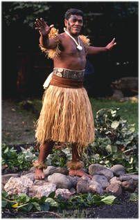 Fijian Firewalker from the Fijian island of Beqa (pronounced Benga)