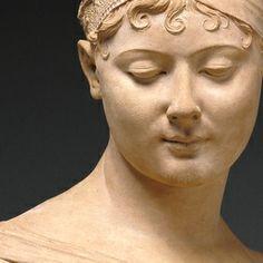 CHINARD Joseph - French (1756-1813) ~ Madame Recamier ca. 1801/02 Terracotta / J. Paul Getty Museum