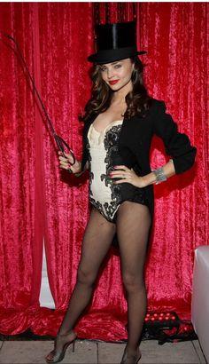 Miranda Kerr - Ring Master Halloween Costume