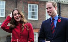 Duke and Duchess of Cambridge travel by bus to support Poppy Day - Telegraph