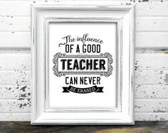 Teacher Gift // Teacher Appreciation // Instant by Print4Yourself