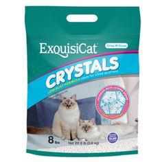 Exquisicat® Crystal Low Dust Formula Fragrance Free Cat Litter   Litter   PetSmart