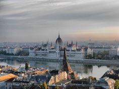 Amazing Photograph of Budapest, Hungary City Panorama Budapest City, Budapest Hungary, Paris Skyline, New York Skyline, Urban Landscape, Landscape Photographers, Beautiful Landscapes, Places To Visit, Nature