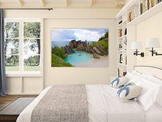 Canvas Gallery Wrap ~ Horseshoe Bay ~ Bermuda (24x36) Photographs by Joules http://www.amazon.com/dp/B018KITLZS/ref=cm_sw_r_pi_dp_QAhwwb1ZE6S08