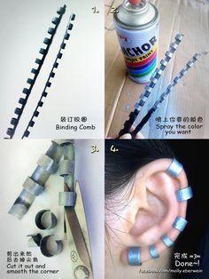 Fake Lip ring / Earring Tutorial by mollyeberwein on DeviantArt