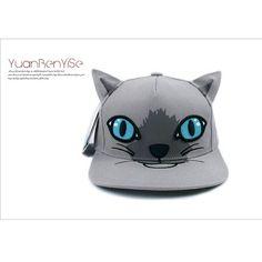 Cheap Moda 3D vivo gato gorras de béisbol para mujer la calle deporte de cabeza plana dom sombrero de leopardo del ojo azul gorra con visera de las muchachas sombrilla sombreros, Compro Calidad Gorras de béisbol directamente de los surtidores de China:        Moda 3D VIVO gato gorras de béisbol para las mujeres deporte calle sombrero para el sol cabeza plana leopardo ojo