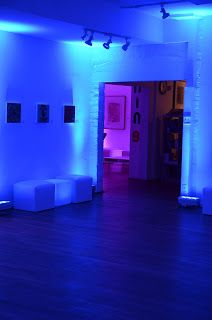 Showtime Events turned the gallery into a super stylish lounge!