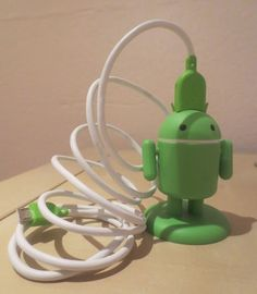 Richard Hay from Google posted a picture of the charger he uses to juice up his Android devices.  You got that right, he uses an Android charger to charge his Android devices.  Android charging Androi