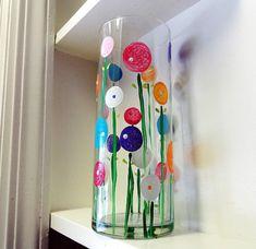 DIY | Spring Poppy Flower Vase