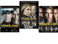 cds-dvds-vhs: Homeland: The Complete Season 1-3 DVD New #Movie - Homeland: The Complete Season 1-3 DVD New...