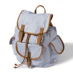 Striped Backpack | Claires - Save 50% - 90% on Special Deals at http://www.ilovesavingcash.com