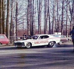 Early Ramchargers funny car