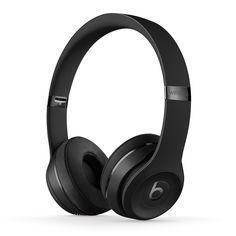 Beats Wireless On-Ear Headphones - Apple Headphone Chip, Class 1 Bluetooth, 40 Hours of Listening Time - Matte Black (Previous Model) Cute Headphones, Running Headphones, Bluetooth Headphones, Over Ear Headphones, Beats Solo 3 Wireless, Beats Audio, Lunette Style, Beats By Dre, 40 Hours