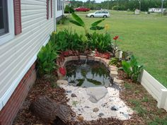DIY Turtle Pond ~ pictorial ( no instructions )