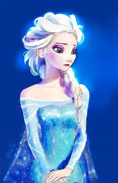 Frozen by sliiva on deviantART