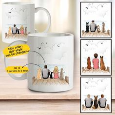 Personalized Pet Coffee Mug, Custom dog&cat photo coffee mugs Gifts For Dog Owners, Dog Lover Gifts, Dog Gifts, Dog Lovers, Best Friend Mug, Friend Mugs, Couples Coffee Mugs, Dog Coffee, Mug Printing