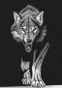 Stalking Wolf by Nimrodel87.deviantart.com on @deviantART