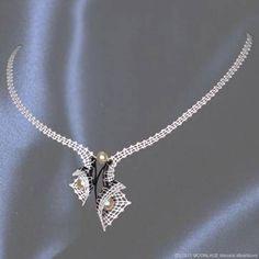 Paličkovaný náhrdelník BRIGITTE