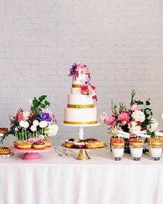 Shake My Blog | Un buffet de donnuts pour votre mariage
