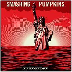 Smashing Pumpkins. Обложка альбома Zeigeist. Шепард Фейри (англ. Shepard Fairey) Биография, работы: http://contemporary-artists.ru/Shepard_Fairey.html